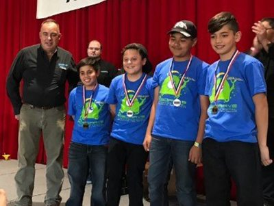 Ascarate Elementary Robotics Team Takes 1st Place at ABQ Competition