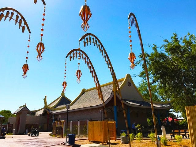 El Paso Zoo Opens New Asia Gateway, Hunt Family Endangered Species Carousel