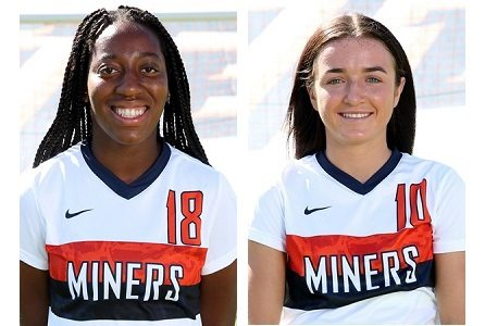 UTEP Soccer's Bohdan, Crenshaw Grab Honors From Conference USA