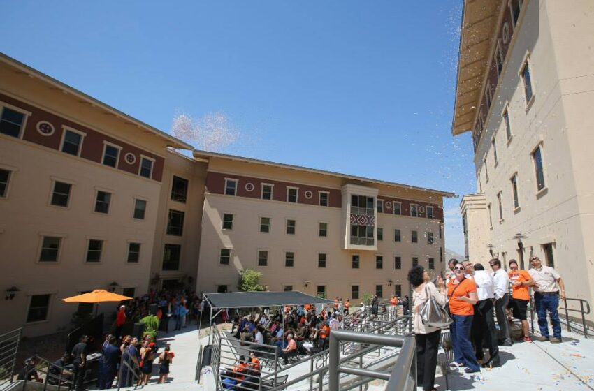 New UTEP Student Housing open