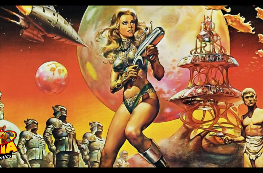 TNTM: Barbarella in Dynamite comics in 2017