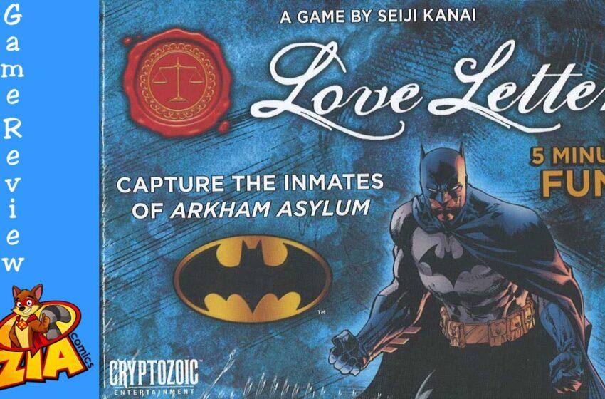 Batman Love Letter game review