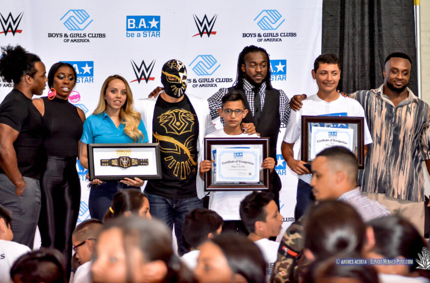 Story in Many Pics: WWE Stars Take Over El Paso