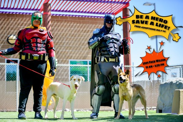 Animal Services, Community Partners Host Superhero-Themed Event Featuring Free Adoptions