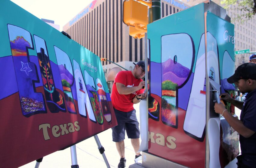 Downtown El Paso to Feature Beauty and the Box Art