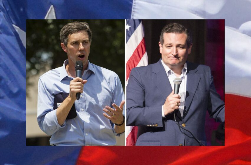 Ted Cruz Leads Beto O'Rourke by 4 points, According to NBC/Marist Poll