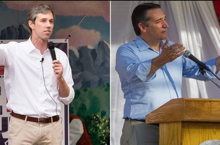 Ted Cruz to Report Raising Less than Half of What Beto O'Rourke Raised this Year