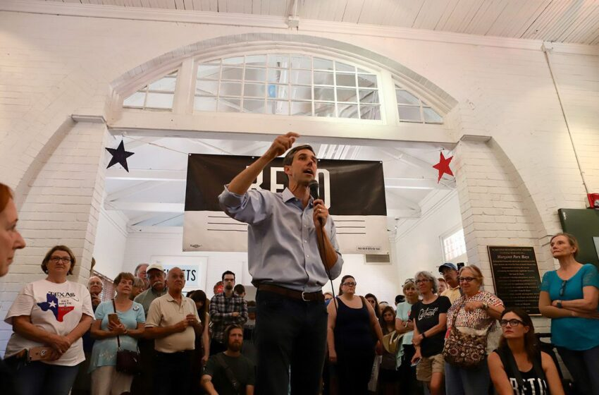 Texas has 254 Counties. Beto O'Rourke Campaigned Against Ted Cruz in Each of Them