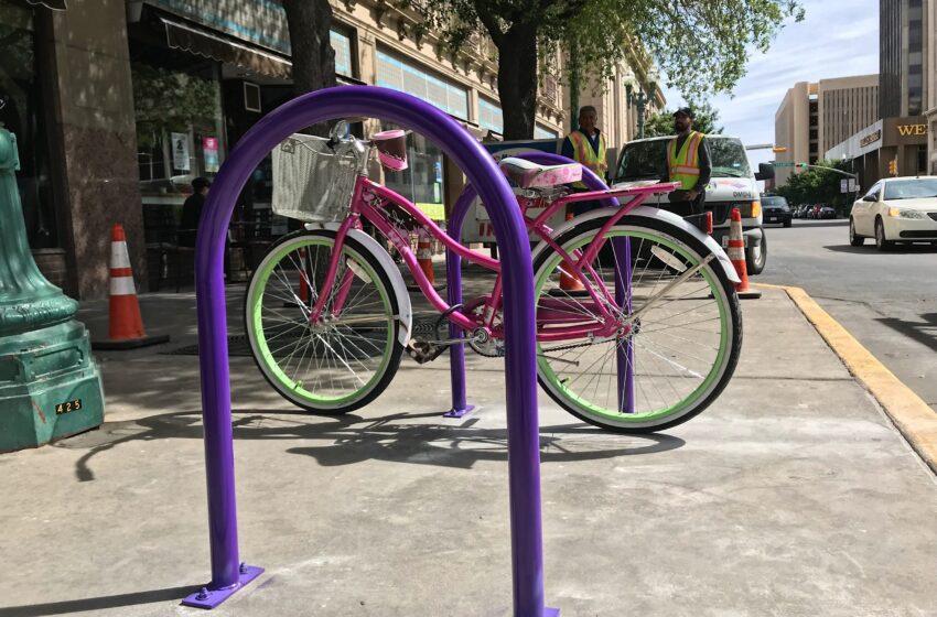 DMD Announces New Downtown Bike Rack Program