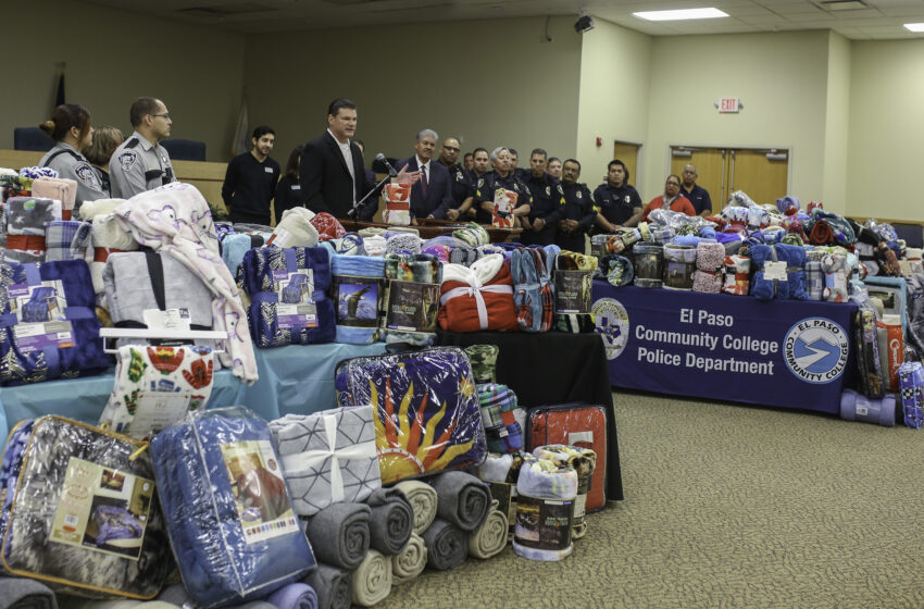 EPCC, El Paso Sheriff's Department Team Up to Warm the Community