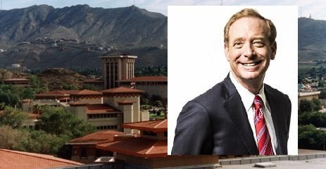 Microsoft President to Speak at UTEP Monday