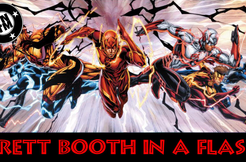 DC Comics Rebirth talk with Brett Booth