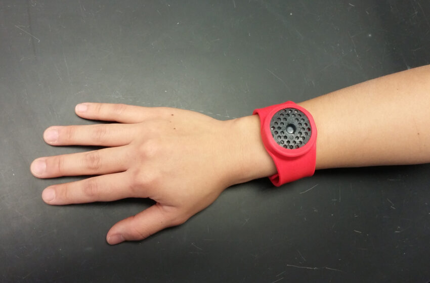 NMSU researcher, Arrowhead Center, local company test mosquito repellent wristband
