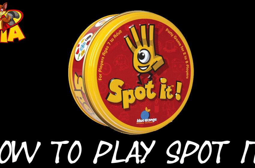 TNTM Spot It! game review