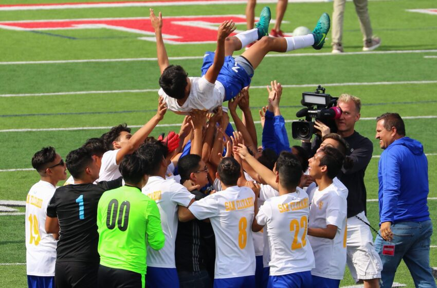 Story in Many Pics: Eagles Soar! San Eli Once Again Snags State Soccer Championship
