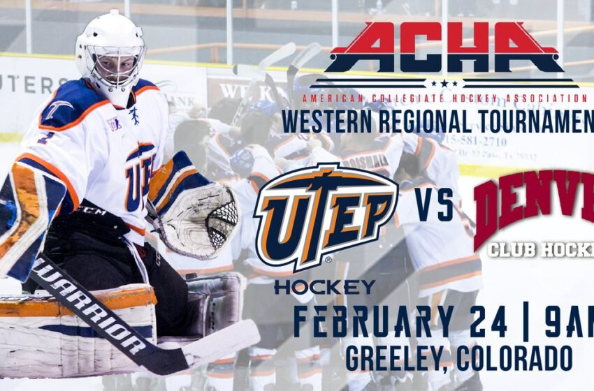 Ice Miners set to play Denver in ACHA Western Regional Tourney