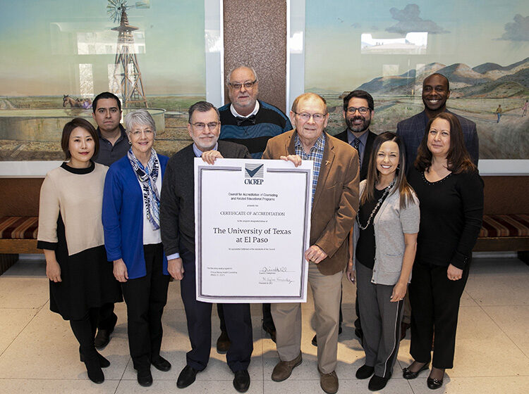 UTEP Counseling Program Earns Top Accreditation
