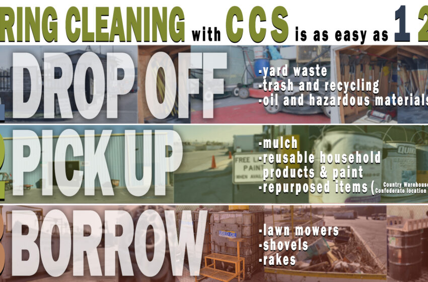 ESD Encourages Residents to use Citizen Collection Stations during Spring Cleaning