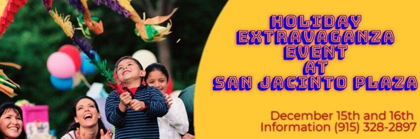 City Set to Celebrate Holiday Extravaganza Friday, Saturday at San Jacinto Plaza