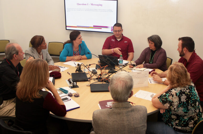 NMSU Foundation, Alumni and Scholarship Boards Work Together for Student Success