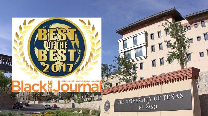 Diversity Journal Ranks UTEP MBA Program Among Nation's Best