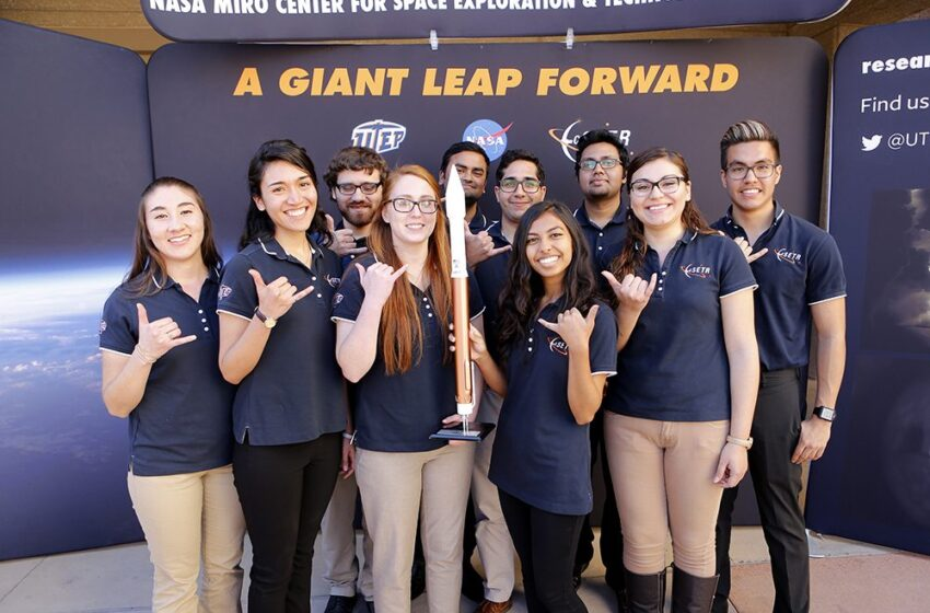 Gallery+Story: UTEP, High School Students Win United Launch Alliance CubeSat Competition