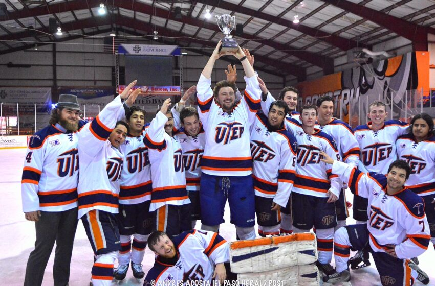 Story in Many Pics: Ice Miners blank Dallas Baptist 6-0, Take TCHC Crown