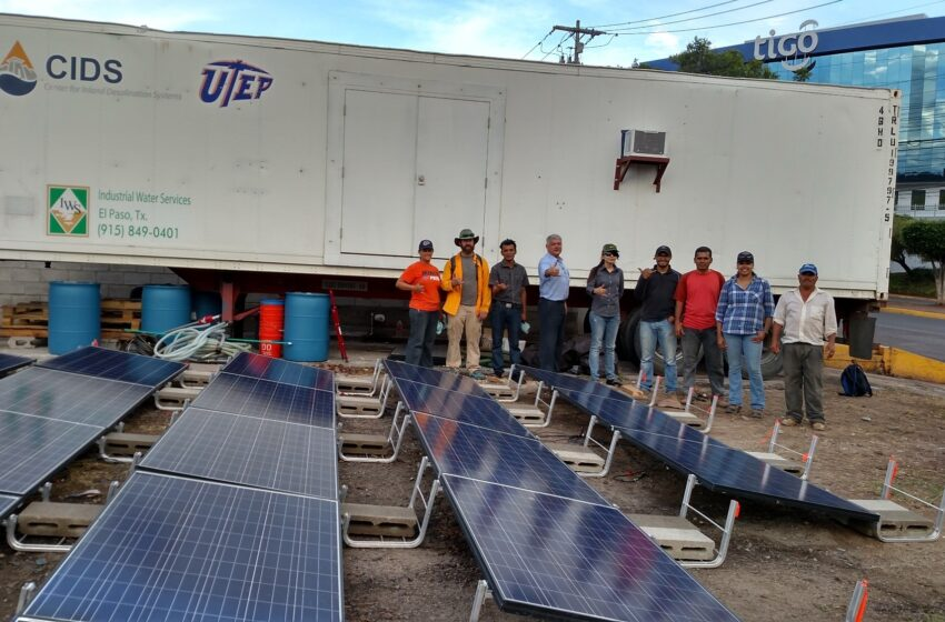 El Pasoans help Provide Clean Water Abroad; UTEP Researchers get Eye-Opening Experience in Honduras