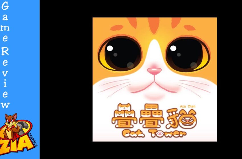 Cat Tower by Aza Chen and IDW Games review