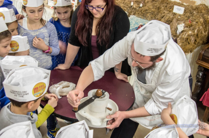 Video+Gallery+Story: Gan Israel Spring Campers Learn the Importance of Matzah