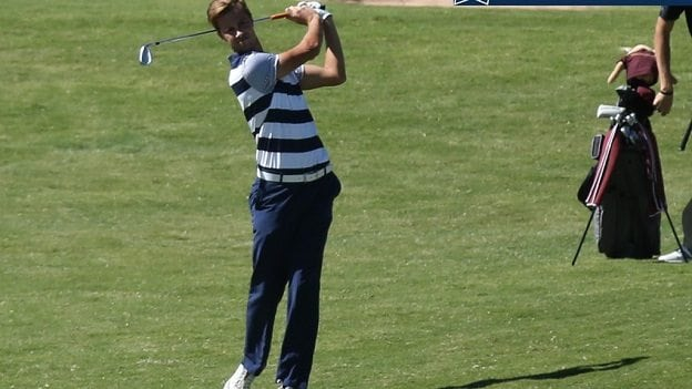 Corner Tied for Eighth After Day One of NCAA Regional