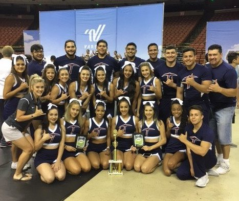 UTEP Cheerleaders Win First Place in Summer Camp Competition