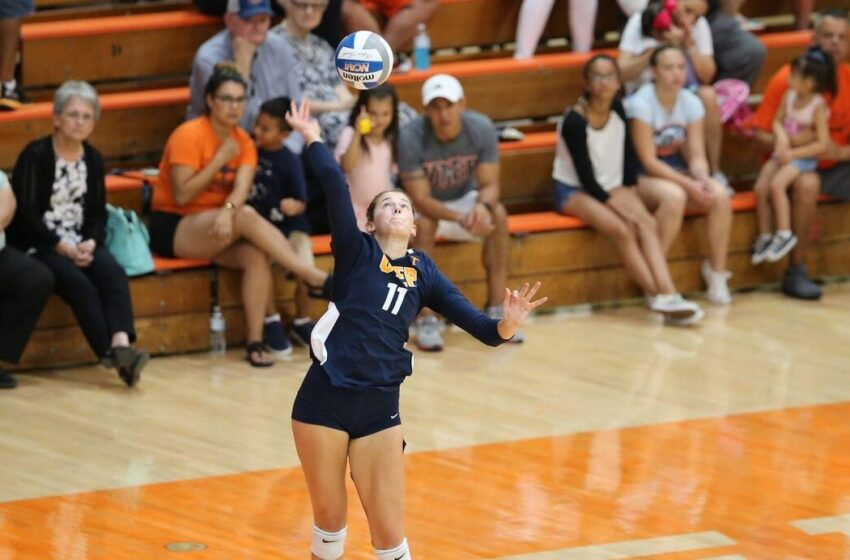 UTEP Volleyball Falls to FIU in Five Sets