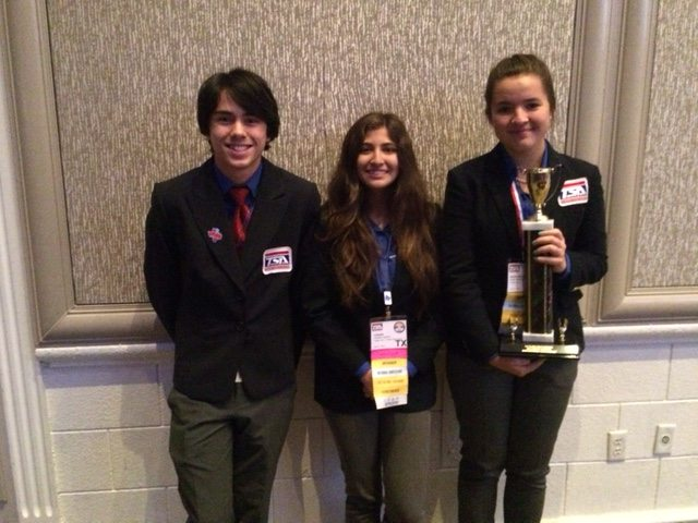 Chapin High Team earns National Title at CTE Conference