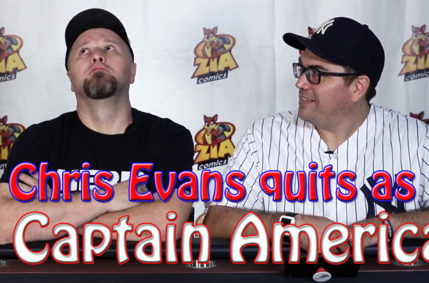 Video+Story: Chris Evans Retiring as Captain America