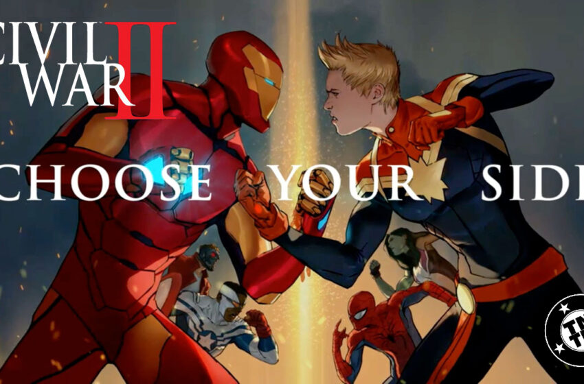 TNTM Marvel Civil War II comic book review