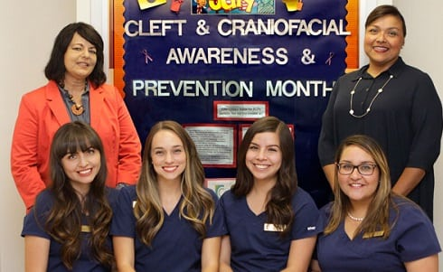 Cleft Clinic Enhances Abilities of UTEP SLP Students