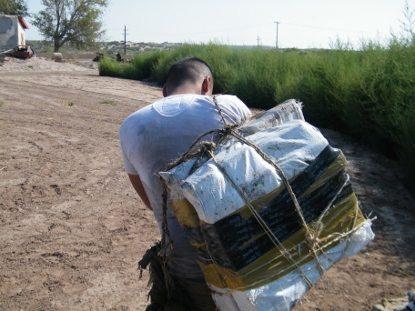 Border Patrol Agents snag pot in backpacks, smugglers