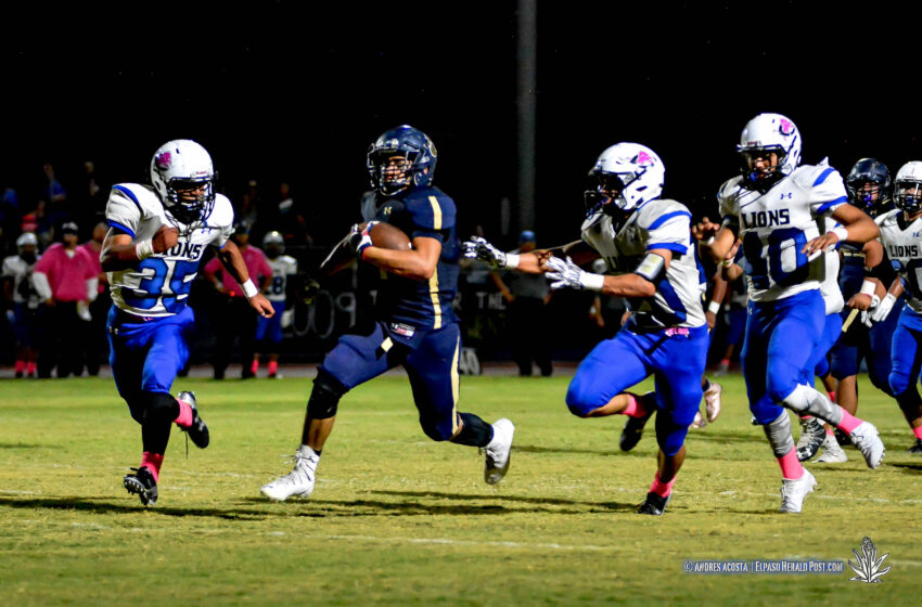 Story in Many Pics: Fabens Blasts Past Clint 47-35