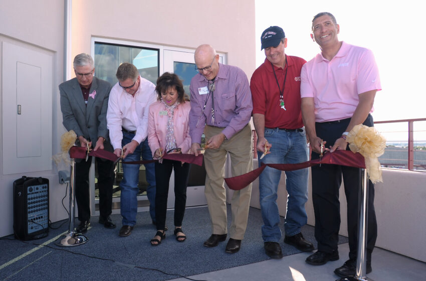 NMSU officially opens Club 27, new skybox at Aggie Memorial Stadium