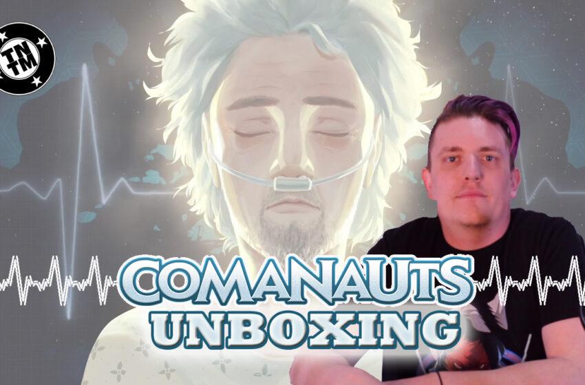 Video: TNTM Comanauts by Plaid Hat Game Unboxing
