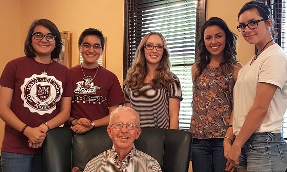 NMSU Conroy Scholars begin First Semester, meet William B. Conroy