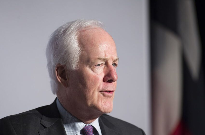 Donald Trump endorses U.S. Sen. John Cornyn for re-election