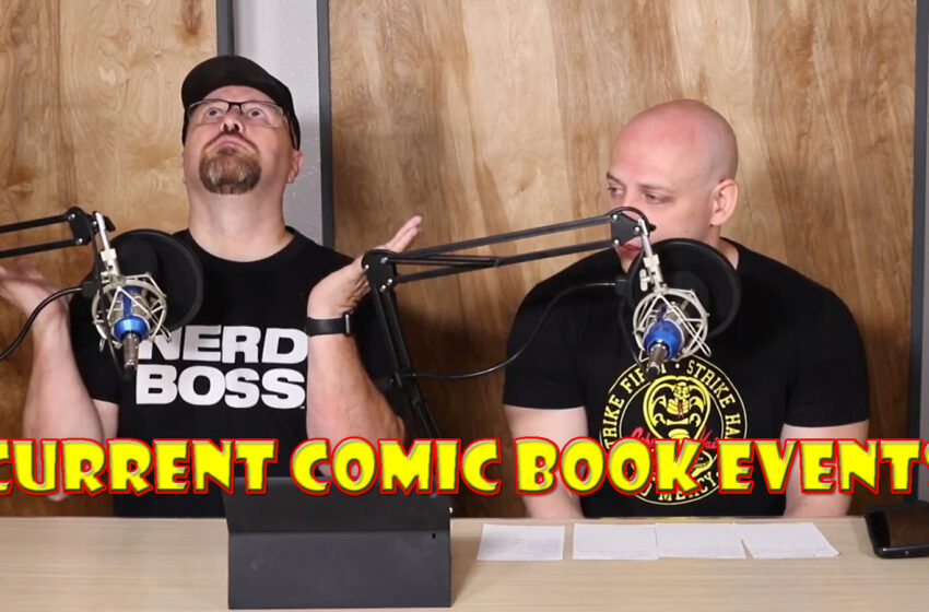 Video+Story: TNTM Talks June and July Comic Book Update