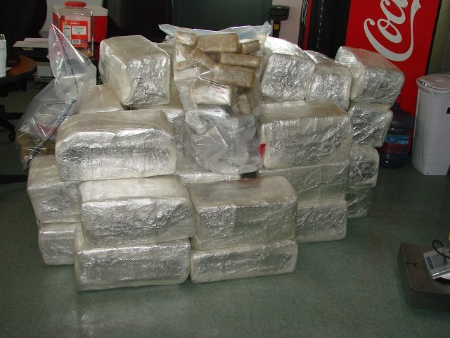 Border Patrol snags $893k of pot outside Alamogordo