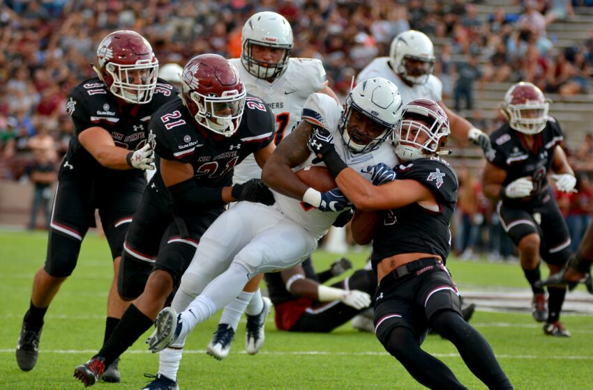 Gallery+Story: NM State Knocks Off UTEP, Wins Battle of I-10 41-14