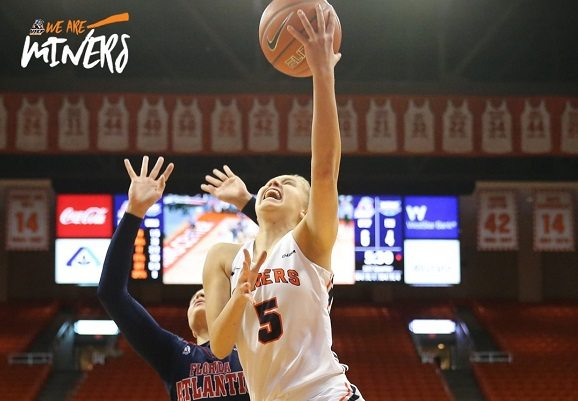 Miners Rally to Down Florida Atlantic 75-70