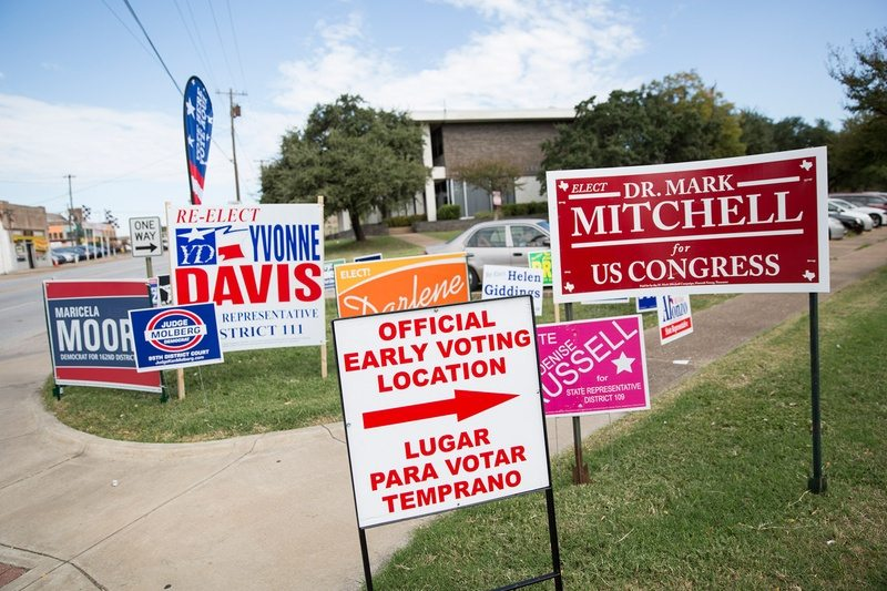 Five questions for Election Day 2016 in Texas