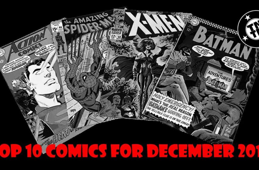 TNTM: Top 10 comics list for December 2016