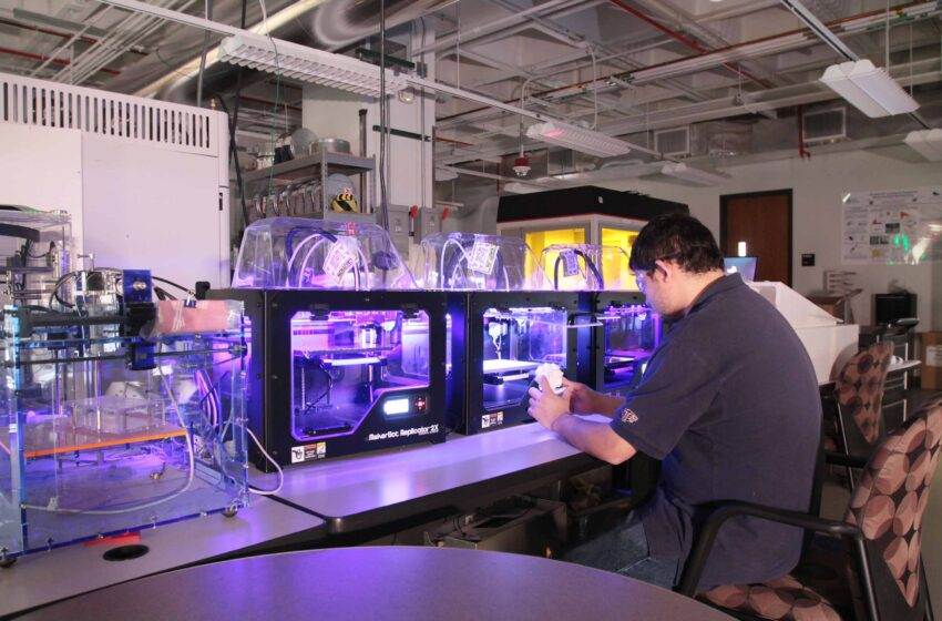 UTEP Keck Center Engineers Awarded $900K to Bolster Metal Printing Processes